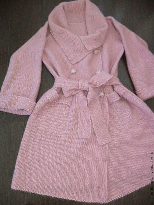 """Верхняя одежда ручной работы. Ярмарка Мастеров - ручная работа. Купить Пальто.""""Роза в пыли""""-2. Handmade. Бледно-розовый"""