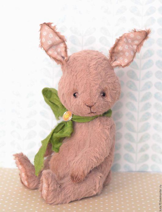 Мишки Тедди ручной работы. Ярмарка Мастеров - ручная работа. Купить ЗОЙКА. Handmade. Кремовый, карамель, вискоза, 5 шплинтов