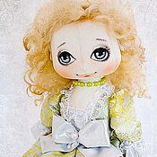 Куклы и игрушки ручной работы. Ярмарка Мастеров - ручная работа Текстильная кукла Элеонора. Handmade.