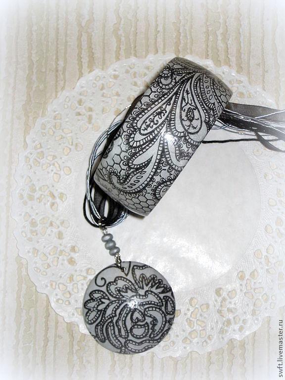 серый черный золотой серебристый романтичный красивый женский недорогой деревянный браслет подарок кружево недорого красиво что подарить девушке женщине сестре подруге маме жене 8 марта день рождения