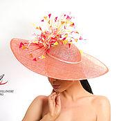 """Шляпы ручной работы. Ярмарка Мастеров - ручная работа Эксклюзивная шляпа для скачек """"ВЕСНА"""". Handmade."""