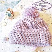 Работы для детей, ручной работы. Ярмарка Мастеров - ручная работа Вязаная шапочка для малыша. Handmade.
