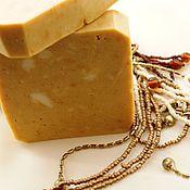 Натуральное мыло с нуля Ши и куркума