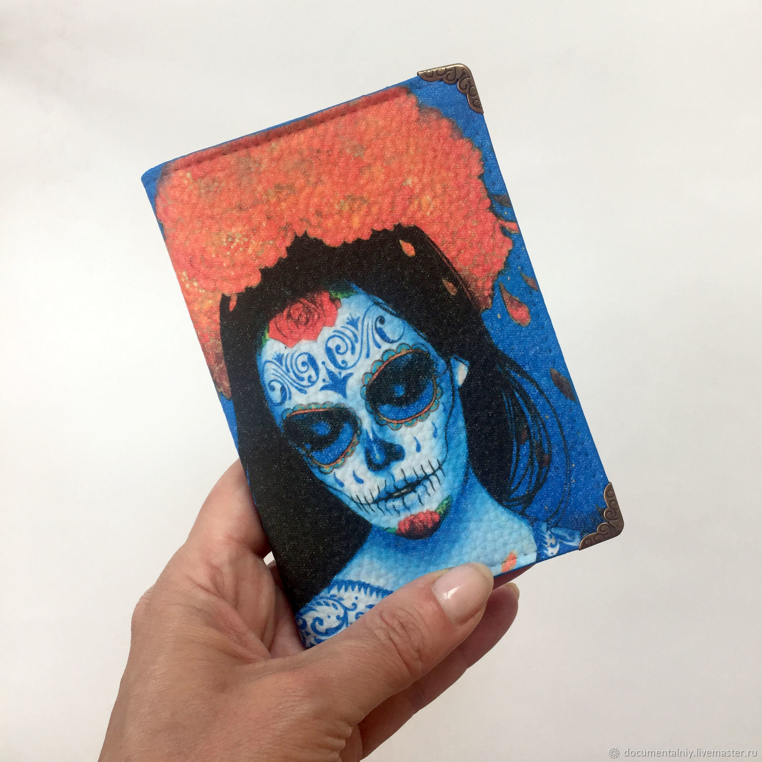 Passport cover, cover (leather) 'CHICANO', Passport cover, Obninsk,  Фото №1