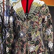 """Одежда ручной работы. Ярмарка Мастеров - ручная работа Жакет """" Ирландское лето"""". Handmade."""