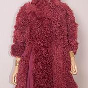 Одежда ручной работы. Ярмарка Мастеров - ручная работа Манто фуксия, тончайший меринос, размер уни. Handmade.