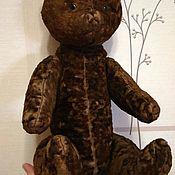 Винтаж ручной работы. Ярмарка Мастеров - ручная работа Мишка медведь антикварный плюшевый 50 см. Handmade.