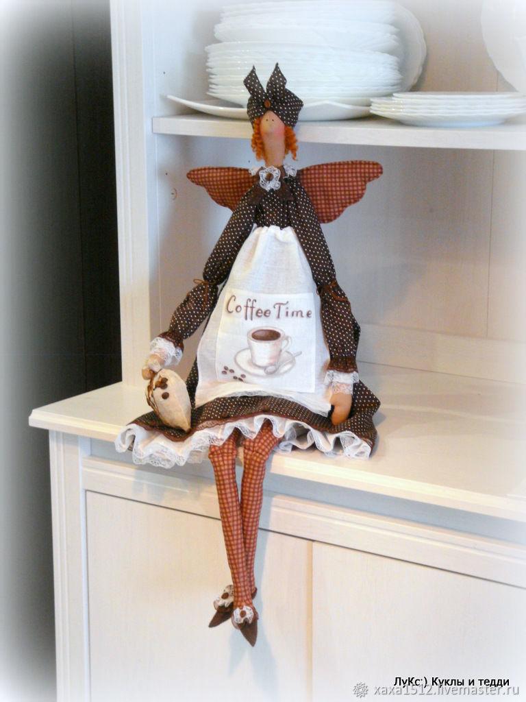Tilda - coffee fairy, Tilda Toys, Zelenograd,  Фото №1