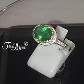 Украшения handmade. Livemaster - original item Ring: Emerald ring