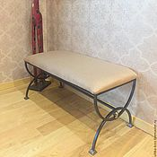 Для дома и интерьера handmade. Livemaster - original item Bench-bench wrought iron. Handmade.