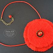 """Украшения ручной работы. Ярмарка Мастеров - ручная работа Колье """"Red"""". Handmade."""