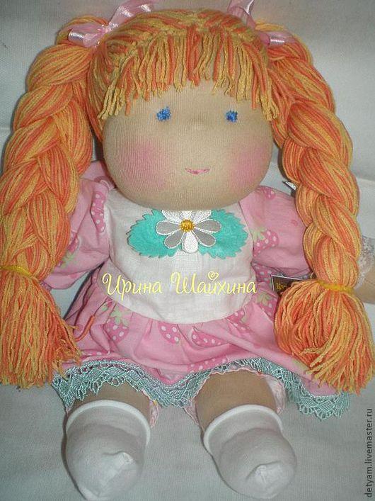 Вальдорфская игрушка ручной работы. Ярмарка Мастеров - ручная работа. Купить Карамелька. Handmade. Вальдорфская кукла, необычный подарок