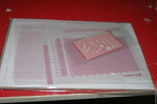 Вязание ручной работы. Ярмарка Мастеров - ручная работа. Купить набор листов. Handmade. Набор, лист, пластик