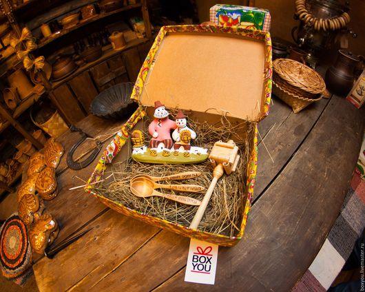 Подарочные наборы ручной работы. Ярмарка Мастеров - ручная работа. Купить Подарок-Сюрприз от Русских мастеров. Handmade. Традиционный, национальный