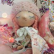 """Куклы и игрушки ручной работы. Ярмарка Мастеров - ручная работа """"Соня"""" уютная текстильная кукла. Handmade."""