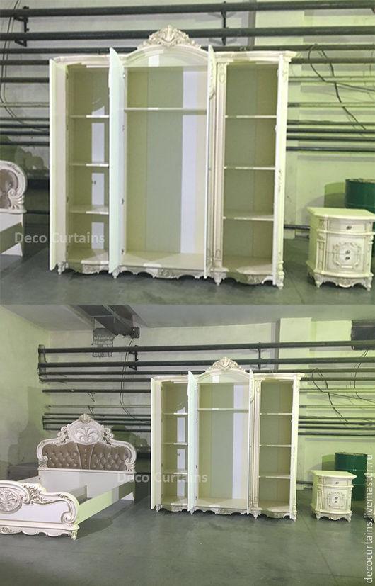 Мебель ручной работы. Ярмарка Мастеров - ручная работа. Купить Резной классический шкаф. Handmade. Комбинированный, массив дерева