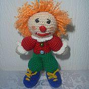 Куклы и игрушки ручной работы. Ярмарка Мастеров - ручная работа клоун. Handmade.