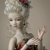 """Шарнирная кукла ручной работы. Ярмарка Мастеров - ручная работа Шарнирная фарфоровая кукла """" Рококо"""". Handmade."""