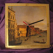 Для дома и интерьера ручной работы. Ярмарка Мастеров - ручная работа Часы Венеция. Handmade.