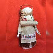 Народная кукла ручной работы. Ярмарка Мастеров - ручная работа Кукла-оберег на благополучную беременность (Новгородская беременная). Handmade.