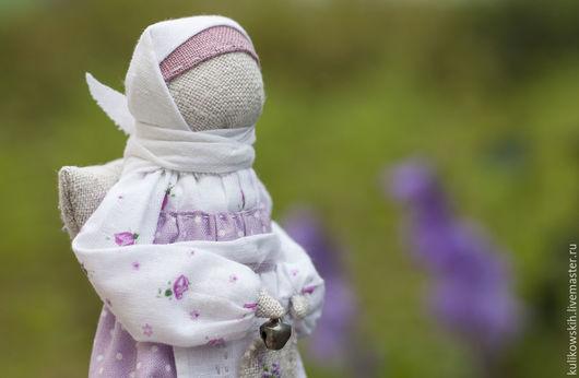 Народные куклы ручной работы. Ярмарка Мастеров - ручная работа. Купить Кукла Ангел..светлый образ... Handmade. Бледно-сиреневый