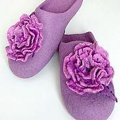 Обувь ручной работы handmade. Livemaster - original item Women`s felted Slippers. Handmade.