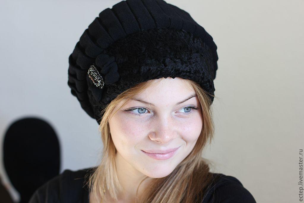 Сшить шапку своими руками из трикотажа выкройка