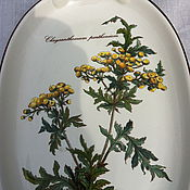 Vintage sets handmade. Livemaster - original item Tray porcelain, handmade