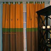 Для дома и интерьера ручной работы. Ярмарка Мастеров - ручная работа Шторы льняные Solair Provence Солнечный Прованс. Handmade.