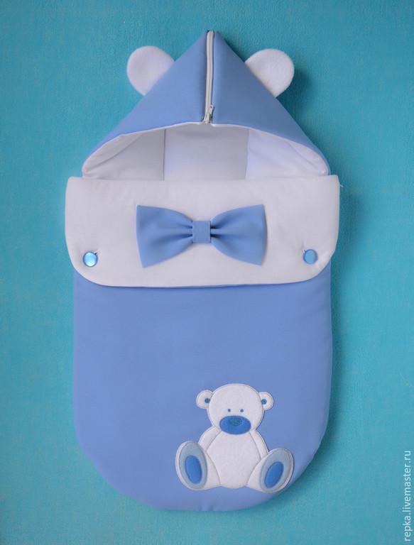Как сшить конверт для новорожденного на лето