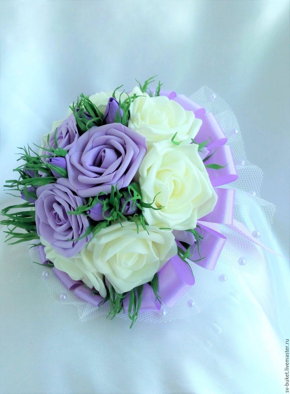 Букеты дублеры на свадьбу из фоамирана, цветов артема киев
