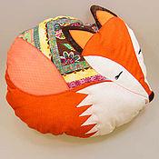 Для дома и интерьера ручной работы. Ярмарка Мастеров - ручная работа подушка лисичка ЛИ. Handmade.