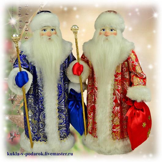 Новогодний подарок Дед Мороз Новогодний Подарки на Новый Год 2018. Кукла ручной работы от мастерской Кукла в Подарок. Место изготовления - Москва. Доставка Почтой России в регионы и другие страны.
