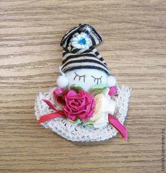 Куклы и игрушки ручной работы. Ярмарка Мастеров - ручная работа. Купить Кукла - декоративный элемент.. Handmade. Комбинированный, Аппликация
