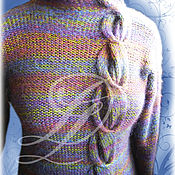 """Одежда ручной работы. Ярмарка Мастеров - ручная работа Вязанный джемпер """"Коса"""". Handmade."""