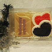 Косметика ручной работы. Ярмарка Мастеров - ручная работа набор мыла сердечки с икрой+канистра. Handmade.