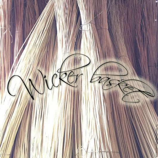 Другие виды рукоделия ручной работы. Ярмарка Мастеров - ручная работа. Купить Прут ивовый (лоза) для плетения 120-140 см., в пучках по 100 шт.. Handmade.