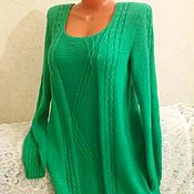 Одежда handmade. Livemaster - original item Knitted women`s dress