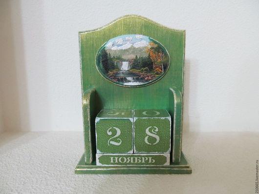 Подарочные наборы ручной работы. Ярмарка Мастеров - ручная работа. Купить вечный календарь. Handmade. Комбинированный, подарок на день рождения