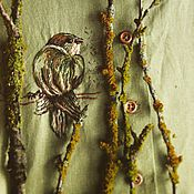 """Одежда ручной работы. Ярмарка Мастеров - ручная работа Платье """"Птаха"""". Handmade."""