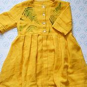 Платье ручной работы. Ярмарка Мастеров - ручная работа Детское платье из муслина. Handmade.