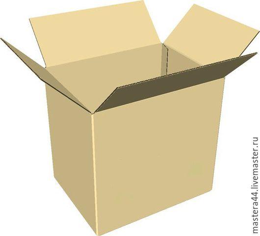 Упаковка ручной работы. Ярмарка Мастеров - ручная работа. Купить коробка картонная 3 слойный гофрокартон тип 3. Handmade.