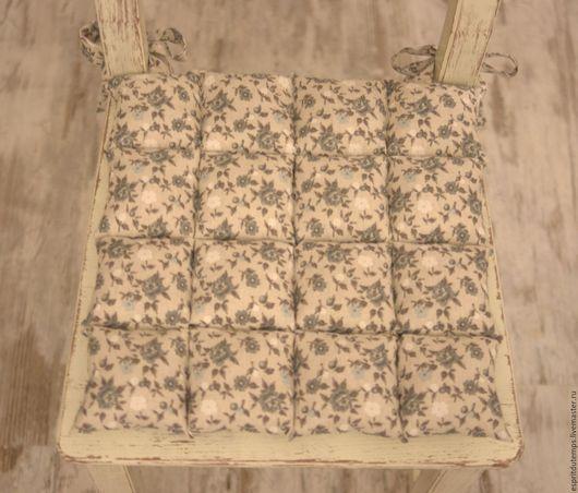 """Текстиль, ковры ручной работы. Ярмарка Мастеров - ручная работа. Купить Подушка на стул в стиле Прованс """"Les petites fleurs"""". Handmade."""