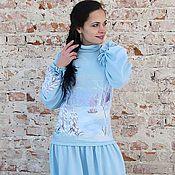"""Одежда ручной работы. Ярмарка Мастеров - ручная работа платье """"СнежиНика"""". Handmade."""