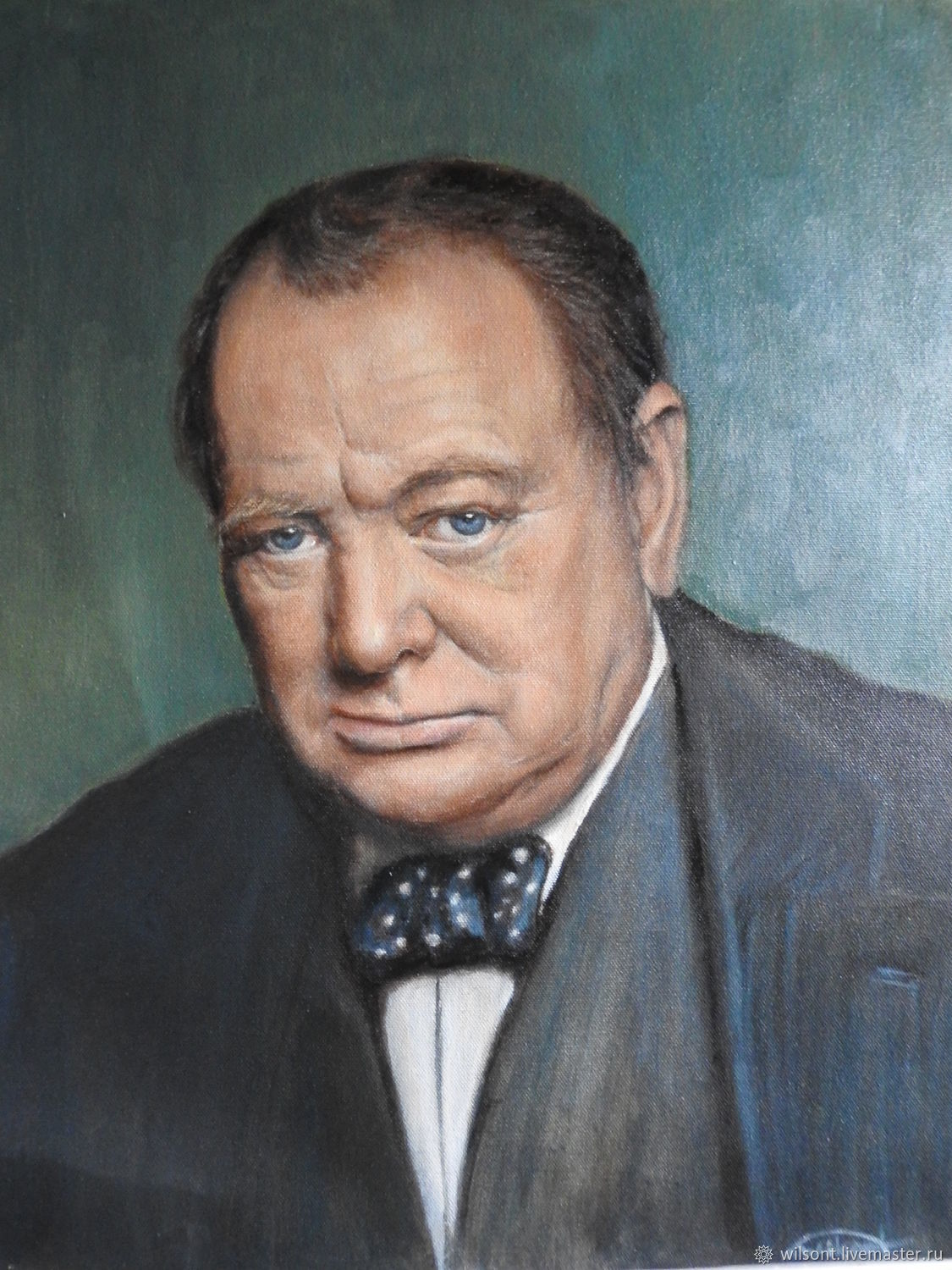 Portrait Of Winston Churchill, Pictures, Coventry,  Фото №1