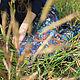 Юбки ручной работы. Юбка в пол (blue flowers). German Kuch. Ярмарка Мастеров. Юбка длинная, юбка макси