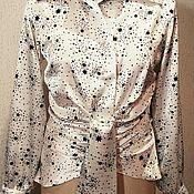 Одежда ручной работы. Ярмарка Мастеров - ручная работа блузка. Handmade.