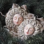 Подарки к праздникам handmade. Livemaster - original item Christmas decorations,Zimushka-winter,. Handmade.
