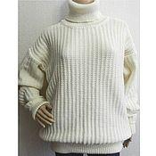 Одежда handmade. Livemaster - original item Sweater chunky knit Gemchugina. Handmade.