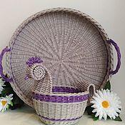 Наборы ручной работы. Ярмарка Мастеров - ручная работа Плетеный пасхальный набор. Handmade.
